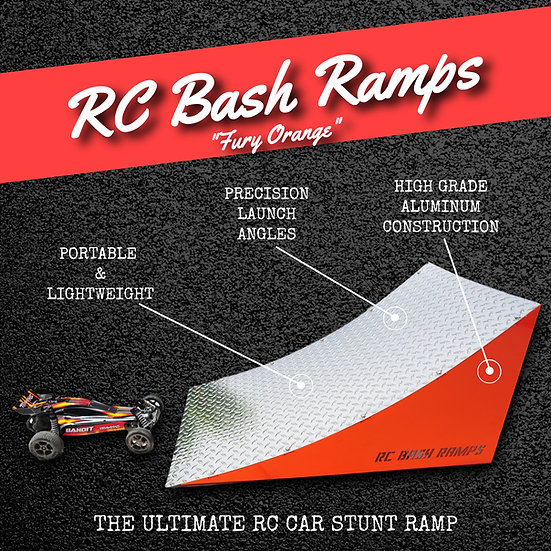 RC Bash Ramp Fury Orange