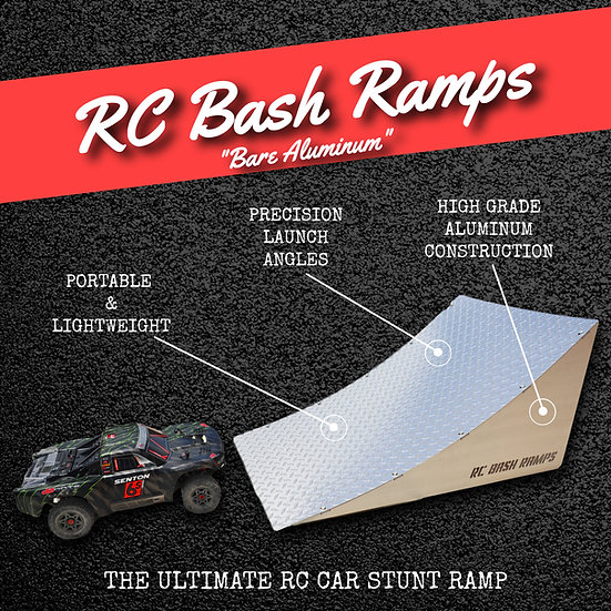 RC Bash Ramp Bare Aluminum