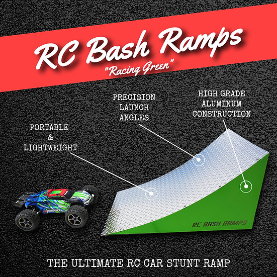RC Bash Ramp Racing Green