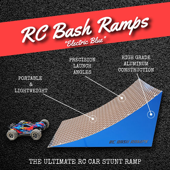 RC Bash Ramp Electric Blue