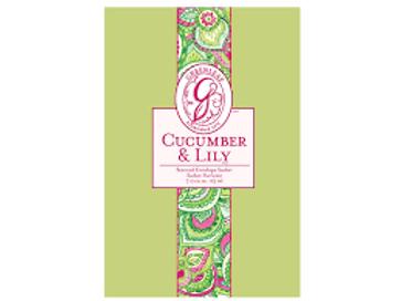 Greenleaf - Sachet senteur  / Geurzak - Cucumber & Lily