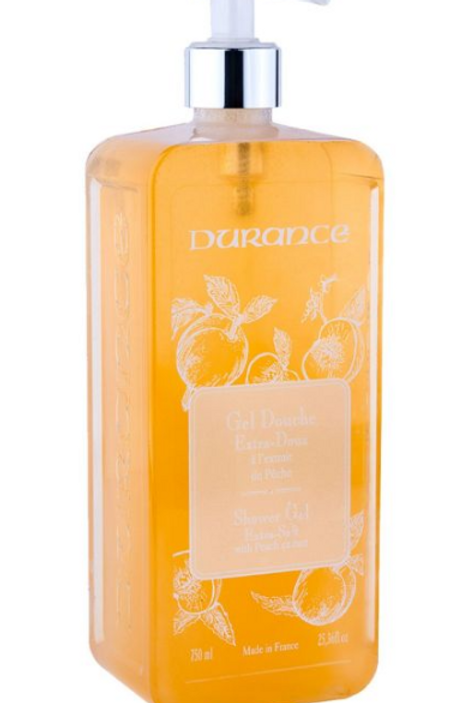 Durance -  Gel Douche - Pêche/Perzik