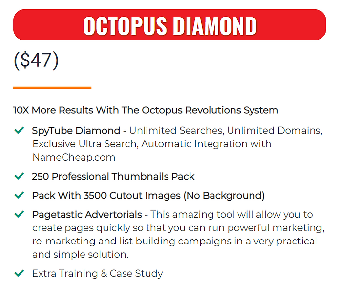 Octopus 5 OTO Price.png
