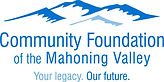 Logo for the Community Foundation of the Mahoning Valley - blue mountains