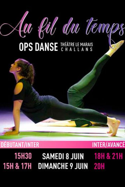 """DVD """"Au fil du temps"""" - Spectacle 2019"""
