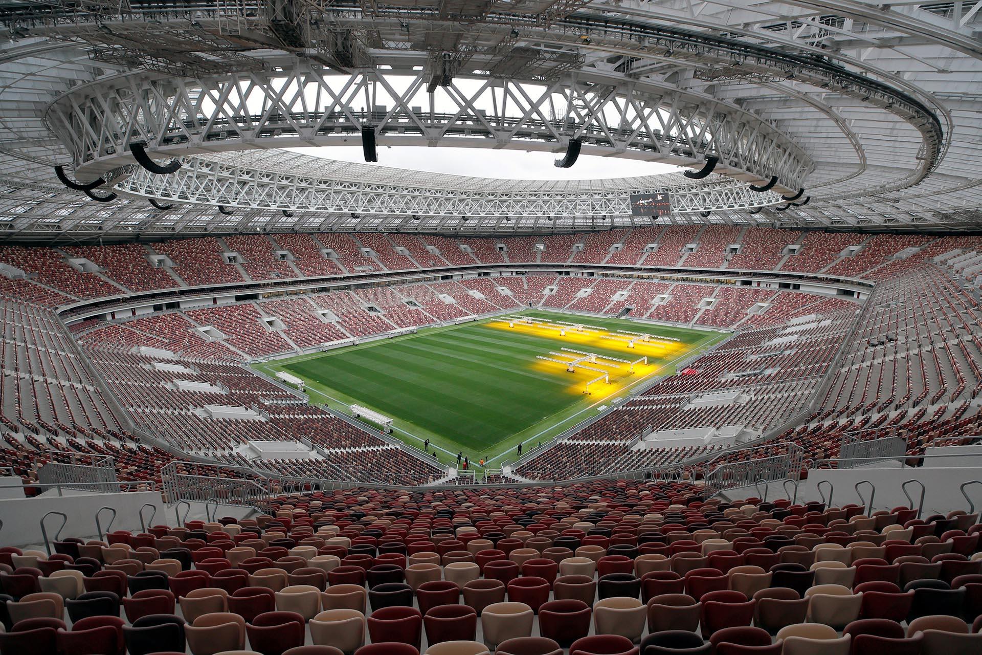 Resultado de imagen para Estadio Luzhniki de Moscú