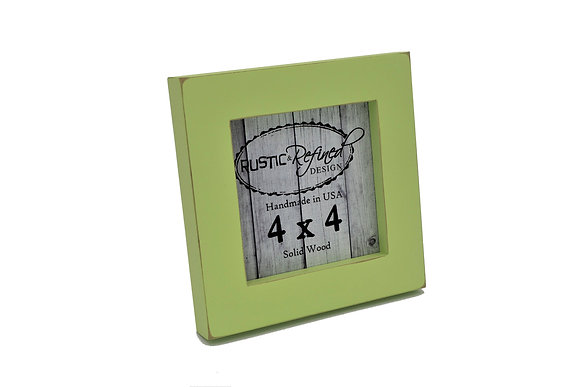 "4x4 1"" Gallery Picture Frame - Citron"