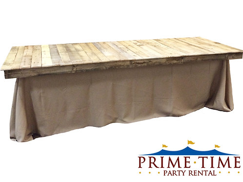 Rustic Wood Pallet Table Topper