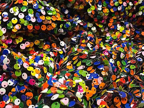 Rubix Multicolor Sequin Drape