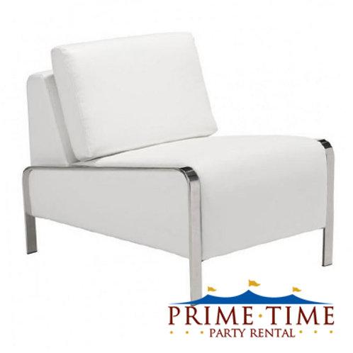 Hudson White Side Chair