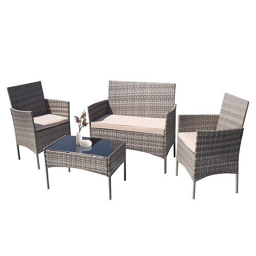 Grey Wicker Furniture
