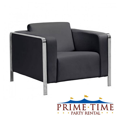 Hudson Black Armchair