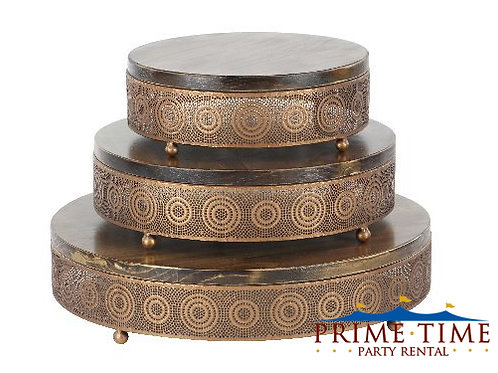 Copper Artisan Cake Stand