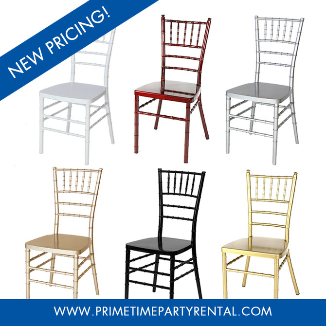 New Chiavari Chair Prices!