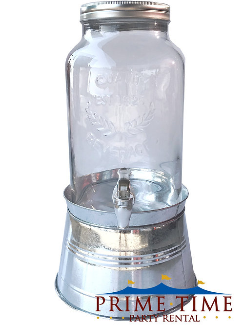 Mason Jar Drink Dispenser 1.5 Gallon