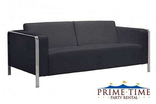 Hudson Black Sofa