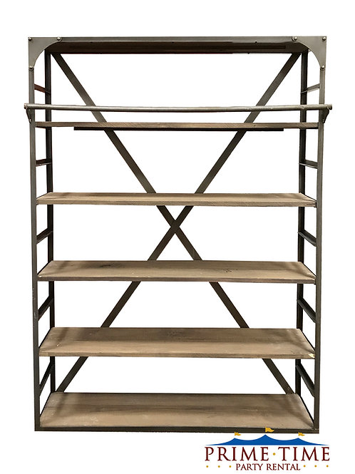Industrial Metal Bookcase