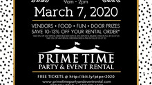 Prime Time's Wedding Open House 2020!