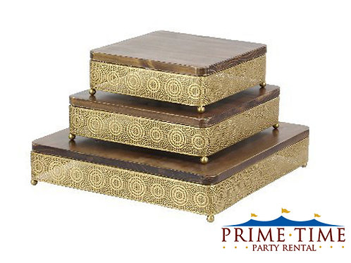 Gold Artisan Cake Stand