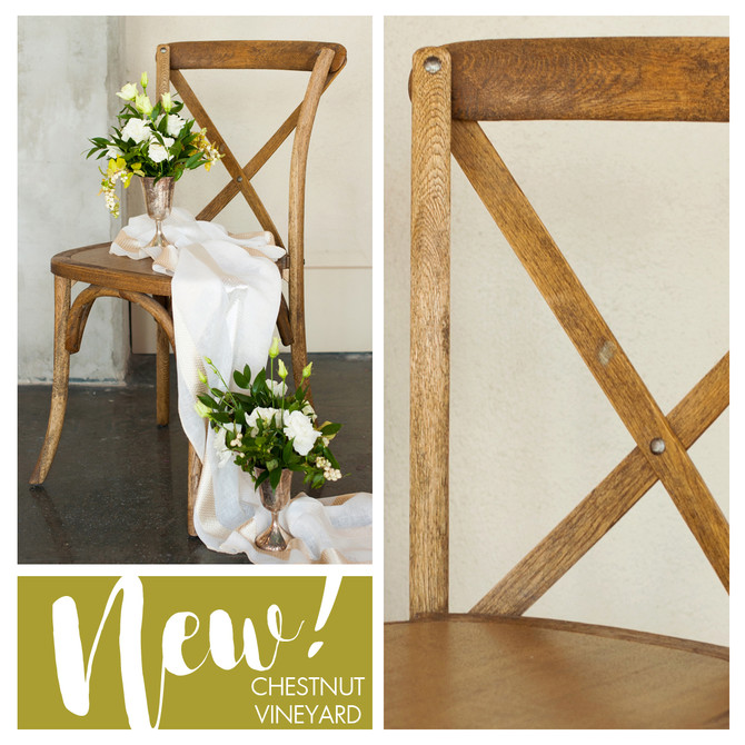 New Chestnut Vineyard Chairs