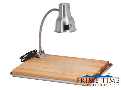 Carving Station Single Light and Board