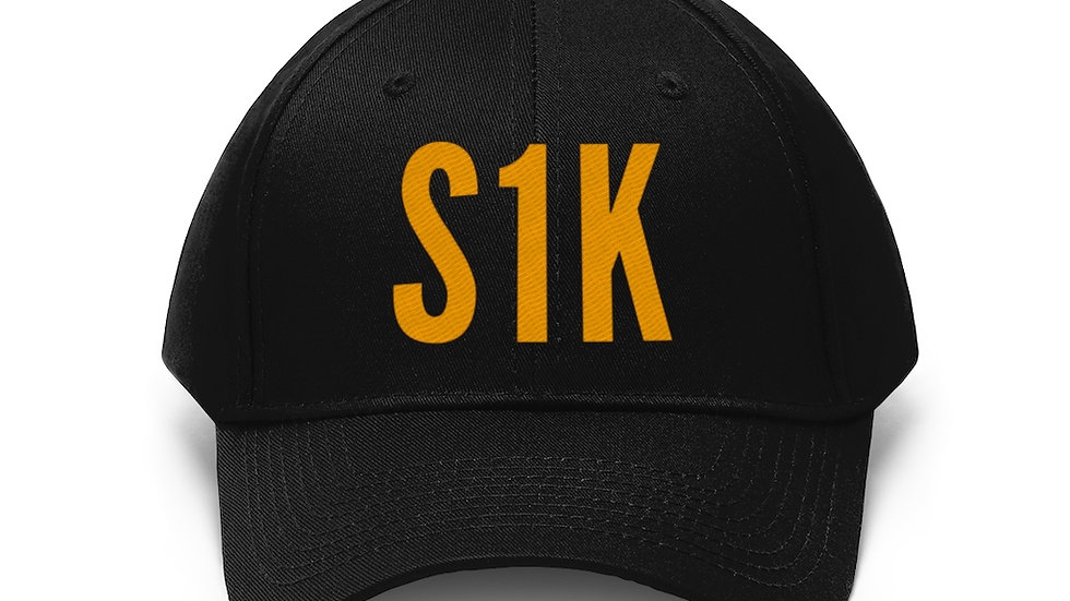 S1K Dad Hat Orange Print