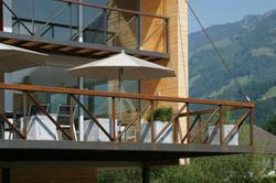 Stahlgeländer Terrasse