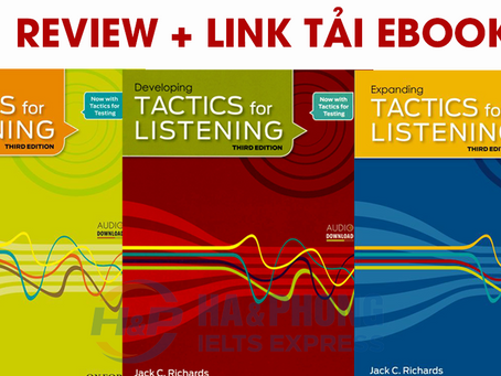 Trọn bộ Basic Tactics For Listening (review + link tải)