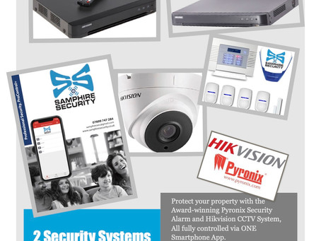 Two Security Systems - One Smartphone App