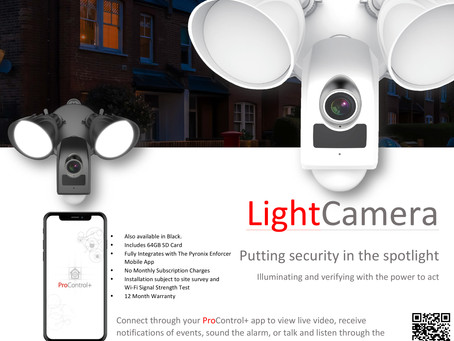 The New Pyronix Light Camera Is Now Available