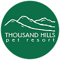Thousand Hills logo that serves as home button for site