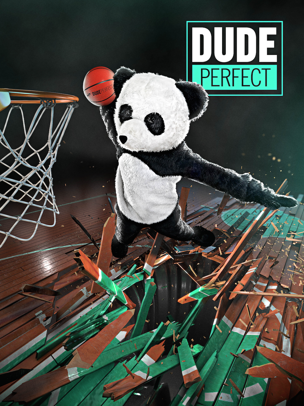 DUDE PERFECT PANDA