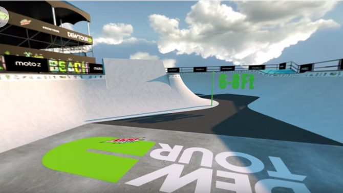 ABC BRINGS VIRTUAL REALITY TO THE DEW TOUR