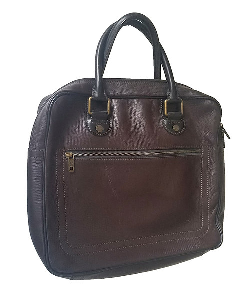 business bag LV Utah leather