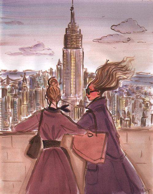 Windy New York