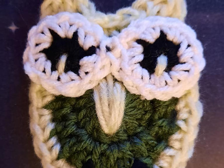 Minerva's Owl Applique
