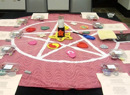 Fiber Magick Saves the World and other workshops