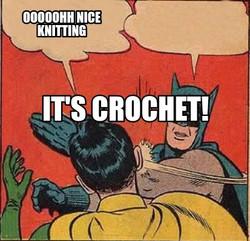 it's crochet
