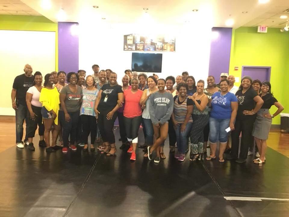 Group pic at SIYBL