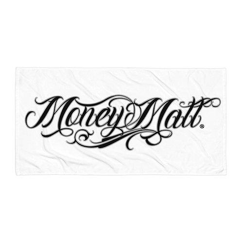 Money Matt Beach Towel