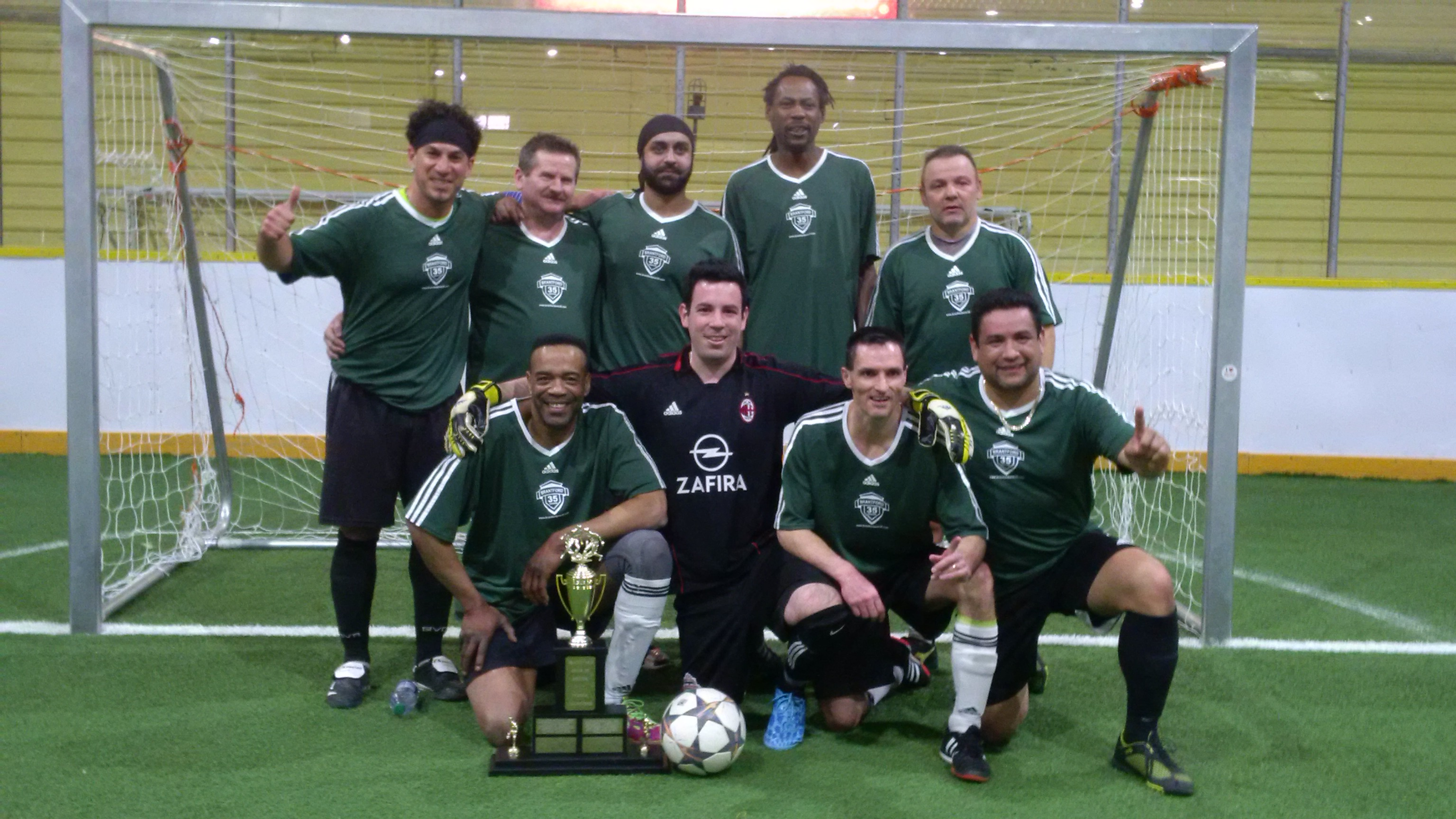 2015 Indoor Playoff Champs