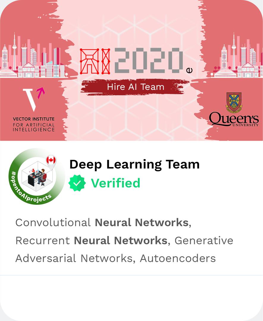 DAIMLAS Deep Learning Team Classic Neura