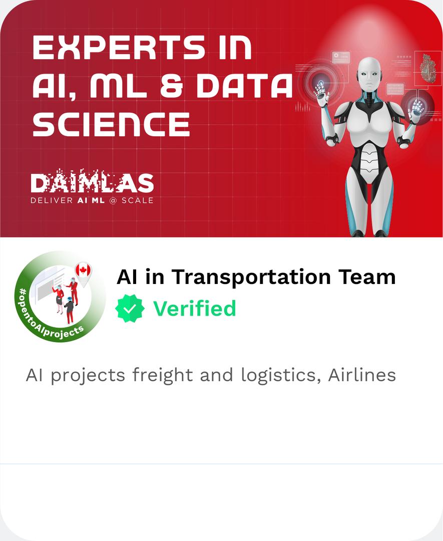 DAIMLAS AI in Transportation TeamAI proj