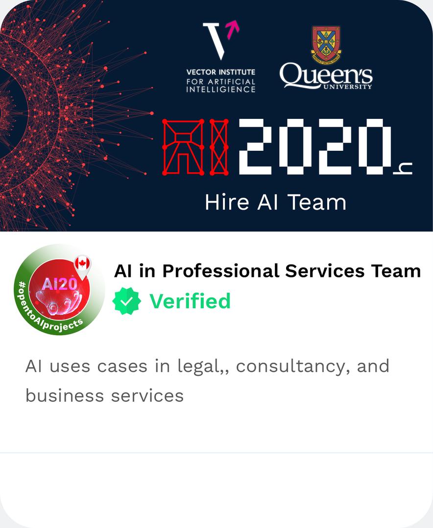 DAIMLAS AI in Professional Services Team