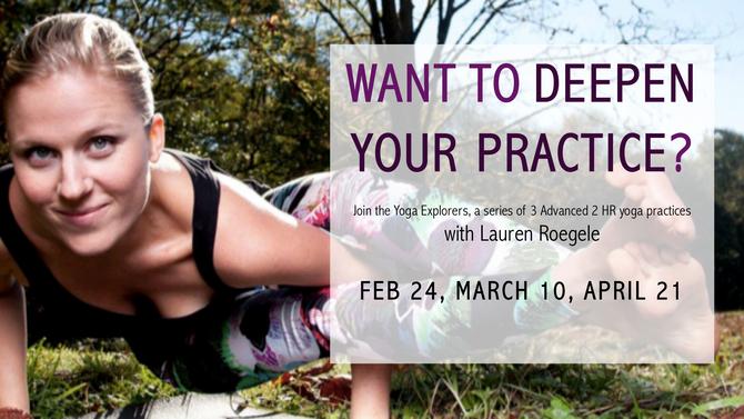 Yoga Explorers with Lauren Roegele
