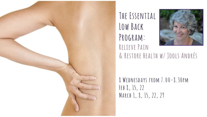 The Essential Low Back with Jools Andrés