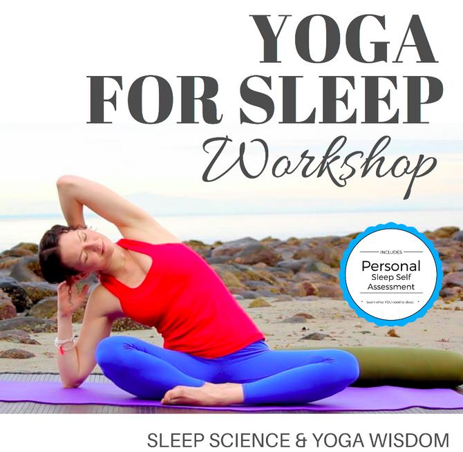 Vayusha Yoga Presents: Yoga for Sleep with Sleep Coach Sarah Domes