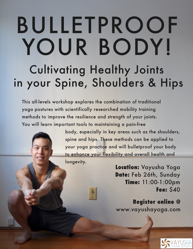 Joint Mobility Workshop with Leo Patrick Cheung