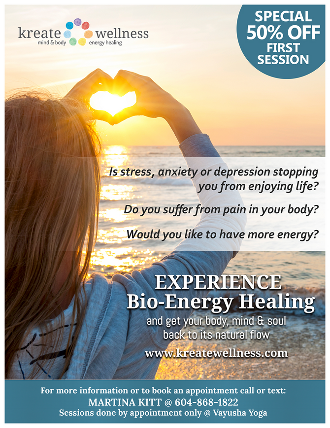 NEW! Bio-Energy Healing