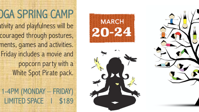 Kids Yoga Spring Camp with Nicole